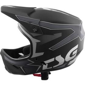 TSG Advance Graphic Design Helm, streak black/grey